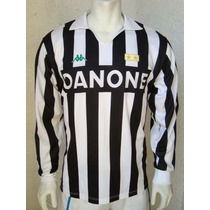 Playera De Juventus Manga Larga Baggio 1992