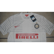 Jersey Nike Inter D Milan Italia Calcio 2014-2015 No Clones