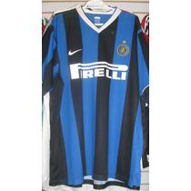 Playera Nike Del Inter De Milan Temporada 2006 Talla Xl