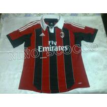 Jersey Del Milan Ac Temporada 2012 - 2013 Local