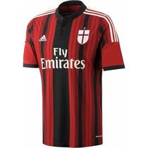 Jersey Adidas 100% Original Milan Italia Calcio14-15 No Clon