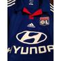 Jersey Adidas Olympique Lyonnais, Climacool, 13-14, Visita.