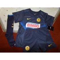 Venta Kit(jersey,short Y Calcetas) America Visita 13-14 Niño