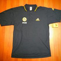Playera Jersey Polo América Adidas Utilería 1999 Excelente