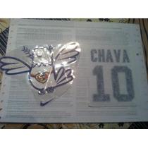 Set De Parches Chava 10 Y Palomita De La Paz