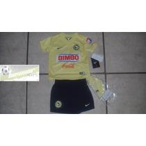 Kit Nike Aguilas Del America 2014-2015 Local De Bebe Oferta
