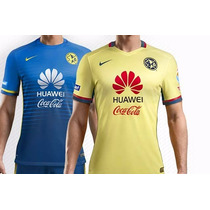 Jersey America Visita Y Local 20015 2016 Playera
