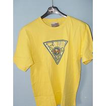 Camiseta De Algodon Marca Nike Club America Color Amarillo