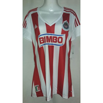 Jersey Adidas De Dama De Chivas De Guadalajara Mujer