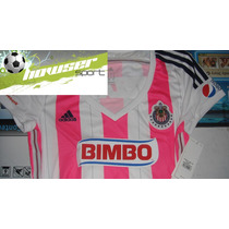 Jersey Adidas Chivas Rayadas De Guadalajara Mujer 2014-2015
