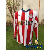 Chivas Guadalajara Nike 1997 Local Mexlub Manga Larga ¡¡