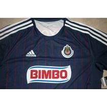 Jersey Adidas Chivas De Guadalajara Visita 2011-2012 No Clon