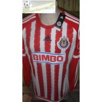 Jersey Adidas Chivas Rayadas Guadalajara 15-16 Manga Larga