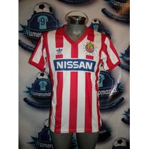 Fantastico Jersey Chivas Retro Nissan Adidas 90-91 Reedición