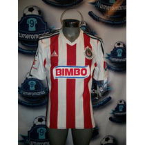 Remate Jersey Chivas Local Adidas Original 2014 -2015