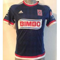 Jersey Chivas Visita 2015-2016 Bravo, Gullit Peña, Orbelin