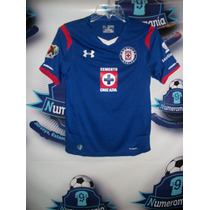 Remate Jersey Oficial Cruz Azul Under Armour Dama 14-15