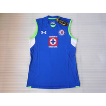 Jersey Under Armour Cruz Azul Entreno 14 15 Casac Musculosa