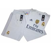 Jersey Adizero Real Madrid 15/16 Local Y Visitante 100% Orig