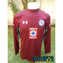 Jersey Cruz Azul Under Armour Portero Vino Corona 14-15 Msi