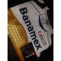 Jersey Pumas Unam Lotto Blanco Campeon 2009-nuevo