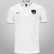 Nike Pumas Unam Talla Mediana Playera Nueva Tipo Polo Blanca