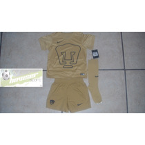 Kit Nike Pumas De Universdad 100%original 2015 Niño Y Bebe