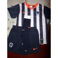 Kit Rayados Monterrey Local 2013-2014 Boys Nike Original