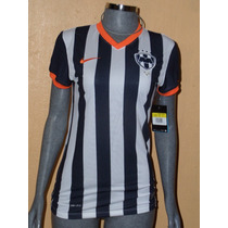 Jersey Rayados Local Dama 2013-2014