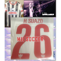 Estampados Monterrey14-15 Local 26 H.suazo Original $130
