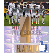 Estampados Tigres 2014-2015 ,oferta 4 H. Ayala Original