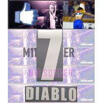 Oferta Tigres 2005 Libertadores, 7 Diablo Local Y Visit