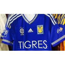 Jersey Tigres Uanl Azul Gignac, Sobis Damm Aquino, Rivas