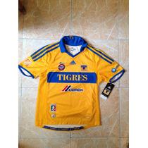 Tigres Adidas Jersey Niño Talla 4,6,8 Y 10 Años Original