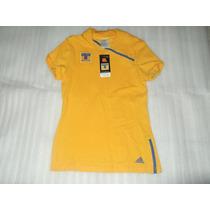 Jersey Polo Adidas Tigres Uanl Blusa Para Dama 100% Original