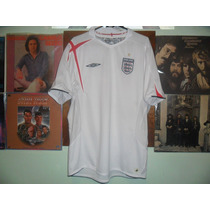 Jersey Cambio , Inglaterra Umbro , 2006 , Talla Xl