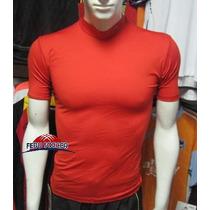 ºº Camiseta Interios Manga Corta Atletica Roja ºº