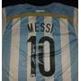 Jersey Autografiado Firmado Lionel Messi Argentina Barcelona