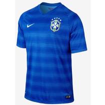 Jersey Nike Brasil Brazil Visita Mundial 2014 Ver Jugador