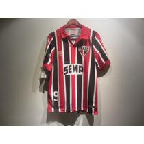 Jersey Penalty Sao Paolo Retro Leonidas Brasil Rara Nueva