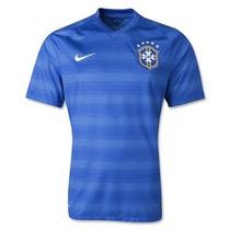 Jersey Nike Seleccion Brasil Mundial 2014 Talla Xl No Clones