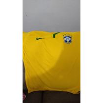 Jersey Brasil Mundial 2014 Talla Xl Amplia Nueva