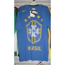 Playera Nike De Brasil Del Mundial 2010 Talla M