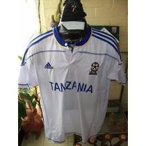 Raro Jersey Selección De Tanzania Adidas
