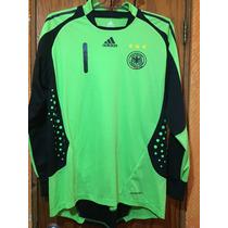 Jersey Portero Alemania Oliver Kanh Adidas America Ochoa