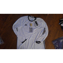 Jersey Adidas Alemania Euro2016 Manga Larga Original Cnumero