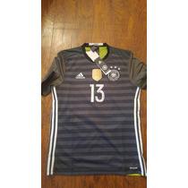 Jersey Adidas Alemania Euro2016 Visita Original C/numero
