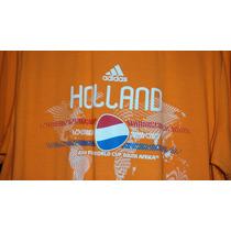 Playera Adidas De Holanda Del Mundial 2010 Talla M