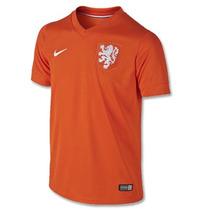 Jersey Nike Holanda Mundial Brasil 2014 Local 100% Original