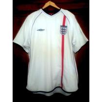 Jersey Inglaterra Umbro 2001-2003